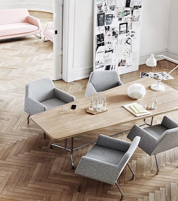 parquet contrecoll ch ne tourny baton rompu huil naturel 14x90x540mm 100 bois. Black Bedroom Furniture Sets. Home Design Ideas
