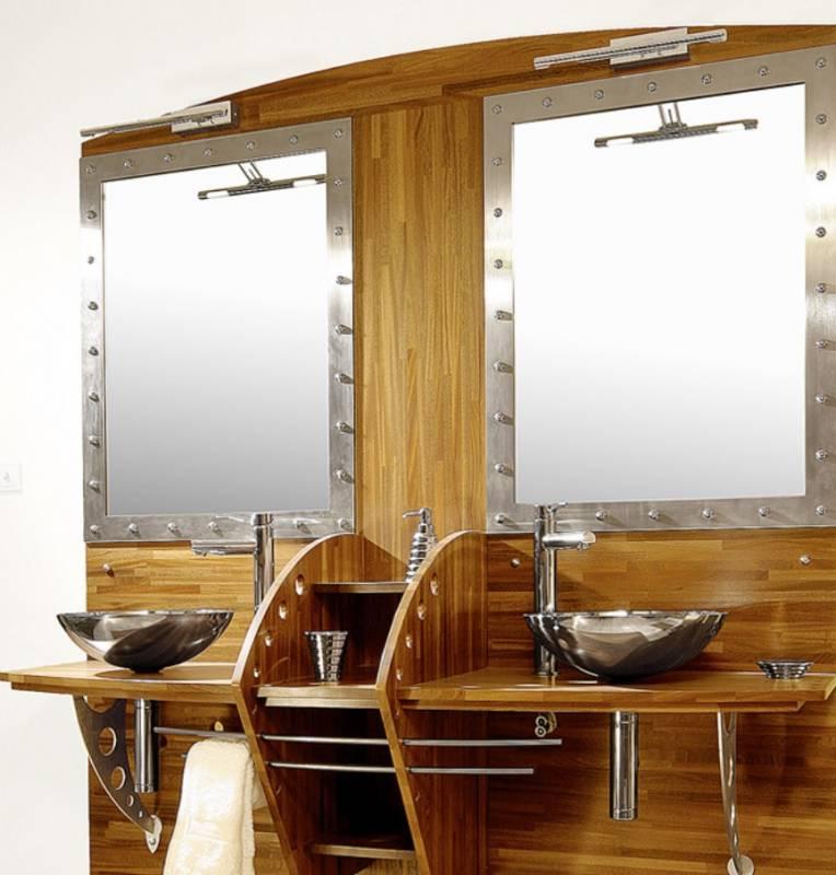 plan de travail en teck brut 100 bois. Black Bedroom Furniture Sets. Home Design Ideas