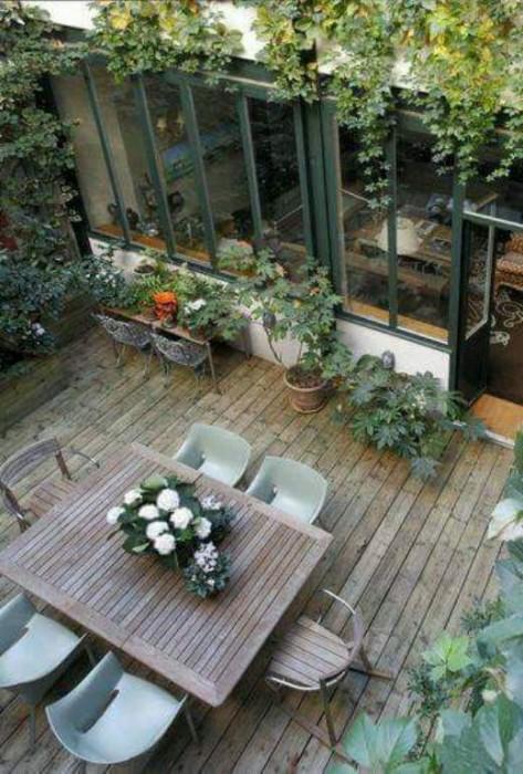Comment Entretenir Une Terrasse En Bois Exotique - UNE TERRASSE BOIS TOUTE SIMPLE INSPIRATRICE DE REPOS ET DE QUIETUDE