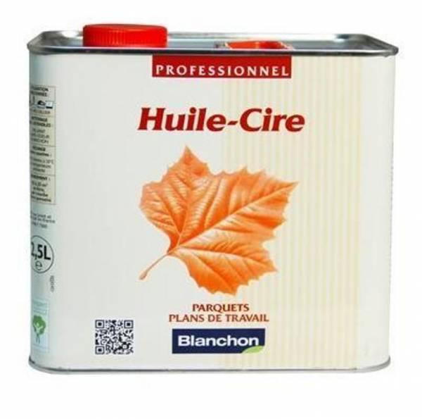 Une huile tr�s garnissante pour prot�ger et embellir vos parquets bruts, l'huile cire Blanchon brille par son efficacit�.De multiples teintes au choix.
