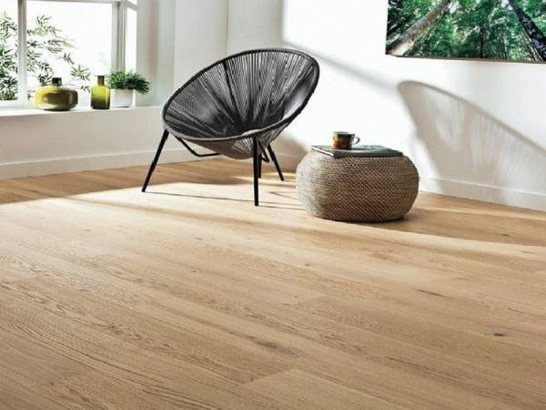 Parquet ch�ne massif H�ritage XL huil� passage intensif  naturel � coller ou clouer. vente en ligne ou boutique
