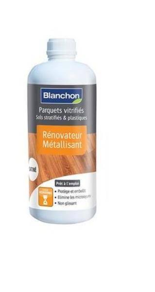 M�tallisant satin� Blanchon, pour raviver vos parquets vernis efficacement. 100%BOIS BIDART 64